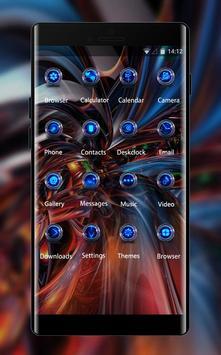 Fantasy/sci-fi theme wallpaper fractal pattern apk screenshot
