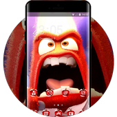 Fantasy/sci-fi theme wallpaper inside out anger icon