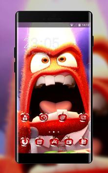 Fantasy/sci-fi theme wallpaper inside out anger poster