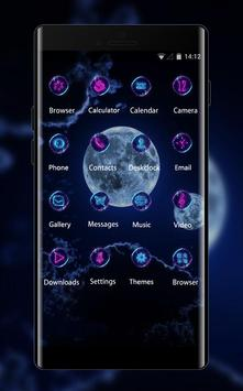 Fantasy/sci-fi theme wallpaper planets sky clouds screenshot 1