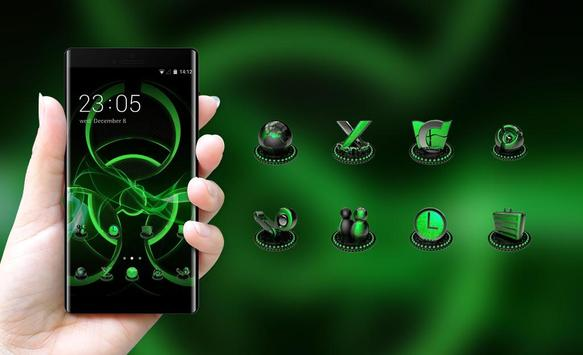 Fantasy/sci-fi theme radiation sign wallpaper screenshot 3
