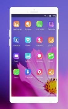 Theme for flower petal oppo r17 wallpaper screenshot 1