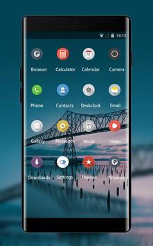Flower theme oregon bridge sea screenshot 1