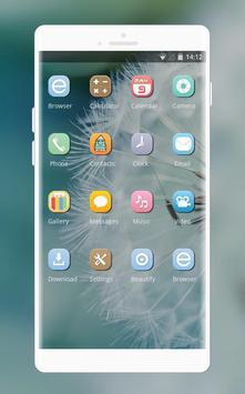 Theme for dandelion flower fresh wallpaper screenshot 1