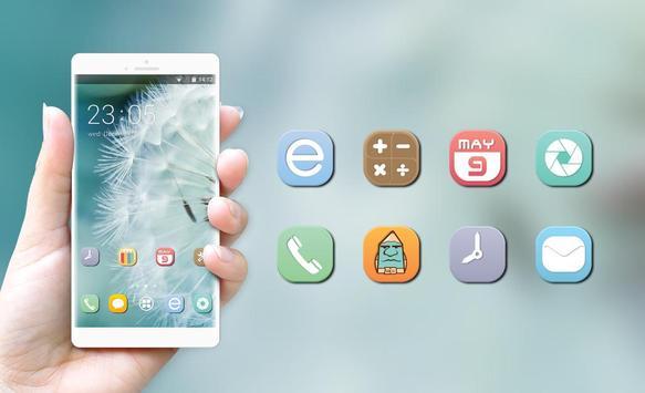Theme for dandelion flower fresh wallpaper screenshot 3