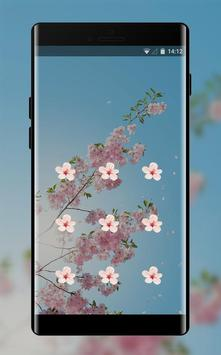 Spring flowers theme apk screenshot