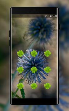 Flower theme globe thistle space interstellar screenshot 1