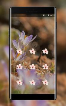 Flower theme early spring space interstellar screenshot 1