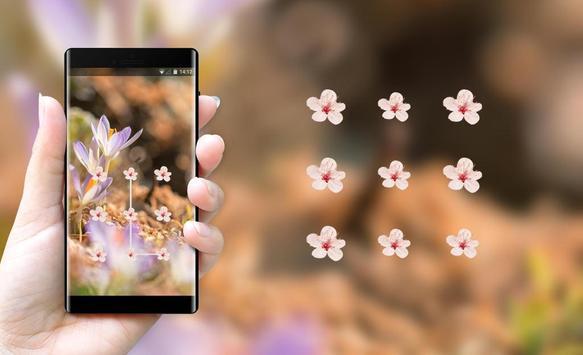 Flower theme early spring space interstellar screenshot 2