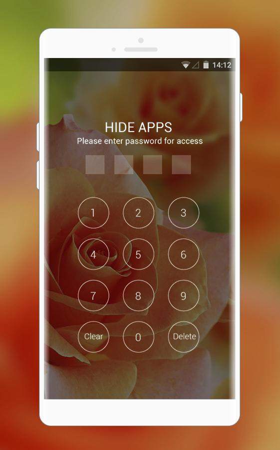 Theme for oppo a83 orange rose flowers wallpaper for Android