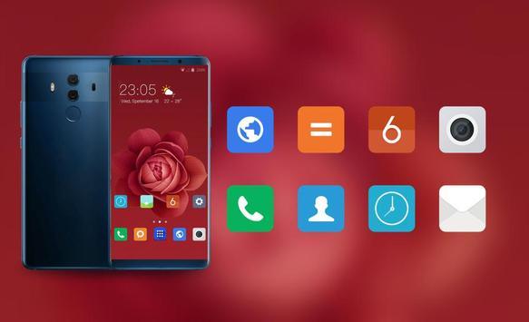Theme for Xiaomi Mi 9 leaks red rose flowers screenshot 3