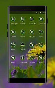 Spring flowers theme flower natural screenshot 1