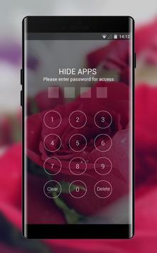 Flower theme rose red love screenshot 2