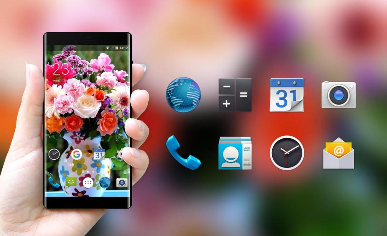 Theme For Spice G 6565 Flores Wallpaper For Android Apk Download