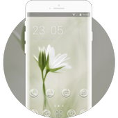 Spring flowers theme -Pure Dream icon