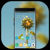 Theme for Mi Redmi Sunflower simple sky wallpaper icon