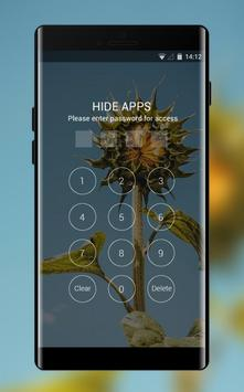 Theme for Mi Redmi Sunflower simple sky wallpaper screenshot 2