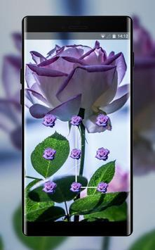 Flower theme pink tinged rose space interstellar poster
