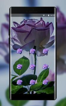 Flower theme pink tinged rose space interstellar screenshot 1