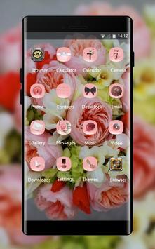 Flower theme wallpaper freesia peonies flowers screenshot 1
