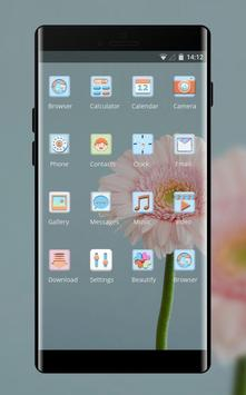 Spring flowers theme screenshot 1