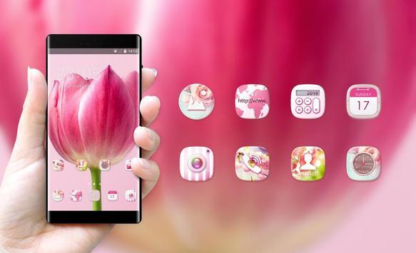 Spring flowers theme screenshot 3
