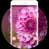 Theme for flower xiaomi mi a1 wallpaper HD icon