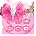 Bowtie Glitter Launcher theme: Princess Theme