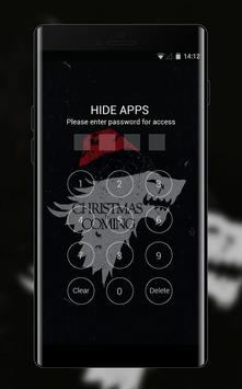 Hand drawing theme christmas is coming dark screenshot 2