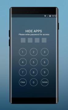 Tech theme blue leo gradation blur colorful apk screenshot