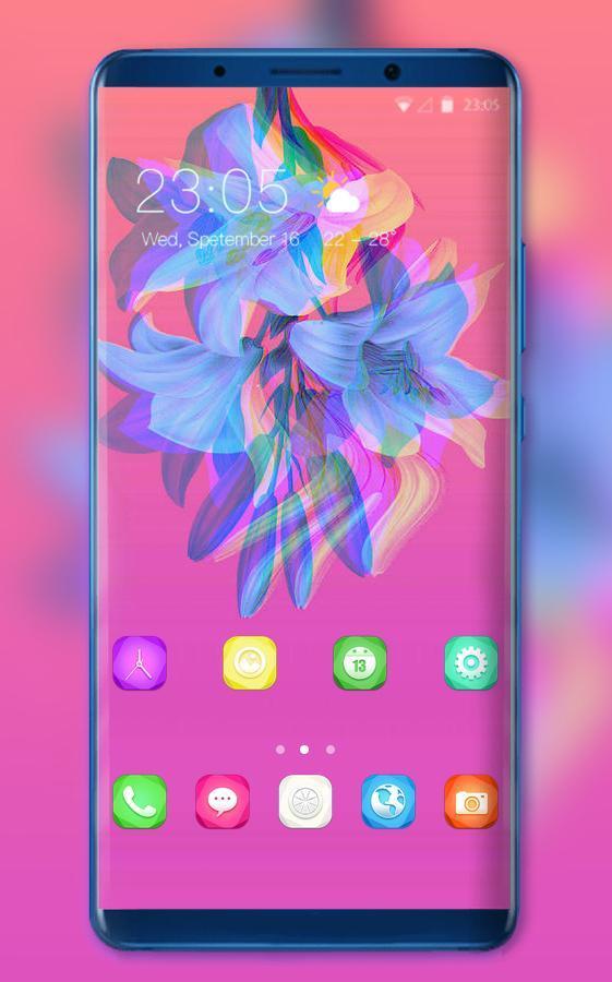 Theme for huawei nova 3i tiktalk style wallpaper for Android