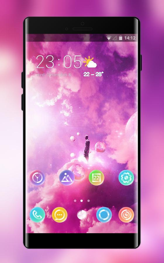 Theme for huawei nova 3i bright sky wallpaper for Android