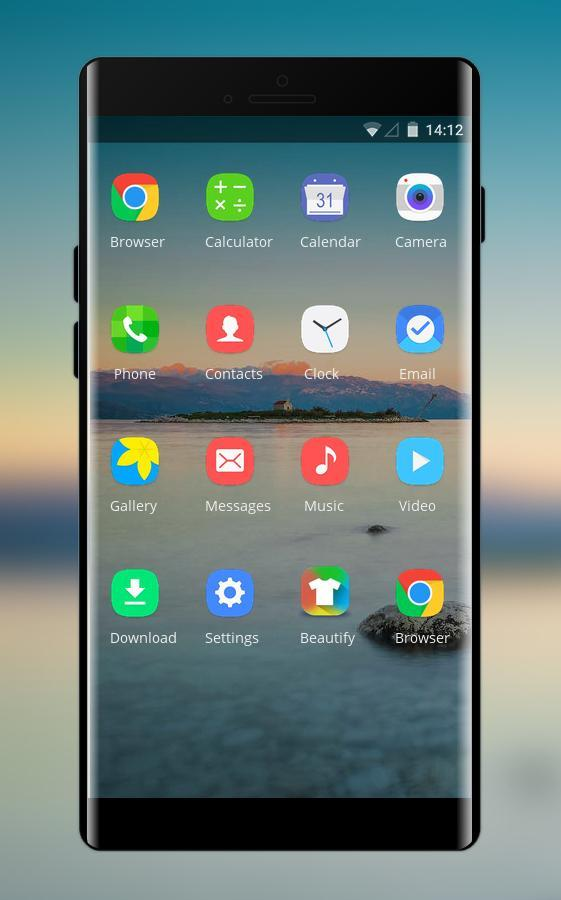 Theme for huawei nova 3i mount sunset wallpaper for Android