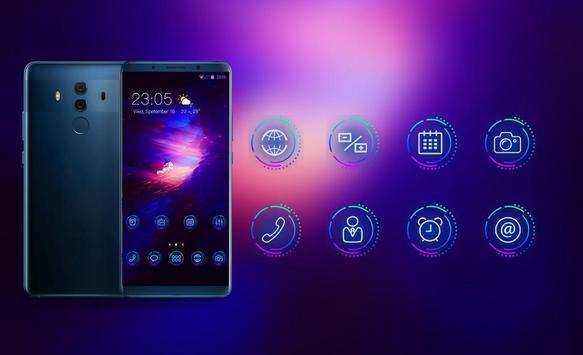 Theme for huawei nova high tech explorer wallpaper screenshot 3