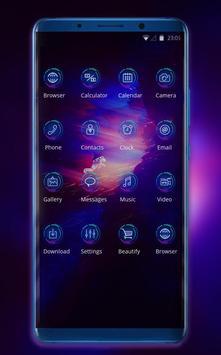 Theme for huawei nova high tech explorer wallpaper screenshot 1