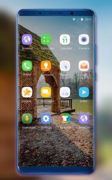 Theme for jio phone2 wooden house wallpaper screenshot 1