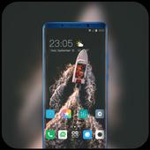 Theme for jio phone2 ocean ship riding wallpaper icon