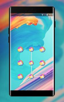 Abstract theme for one plus 6 art design 海报