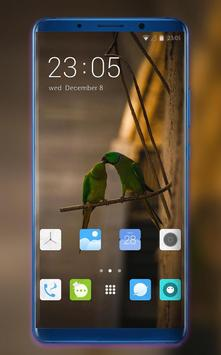 Theme for oneplus6T animals birds wallpaper poster
