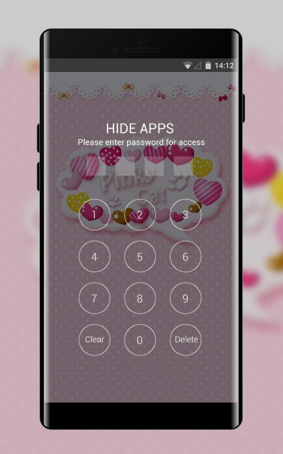 Love Theme Cute Cartoon Pink Cat Wallpaper For Android Apk Download