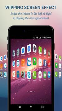 OS Launcher - iLauncher apk screenshot