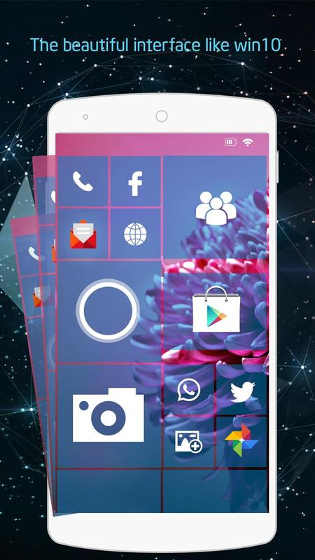 windows 10 android theme