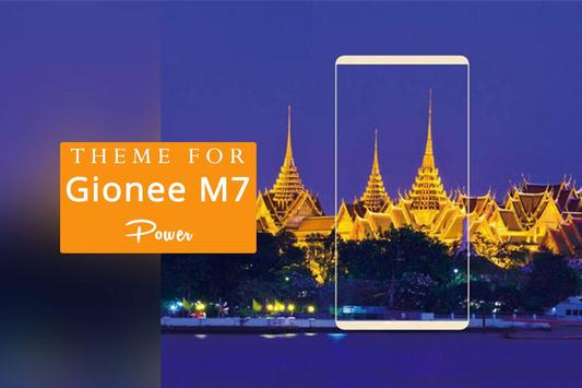 Theme for Gionee M7 Power poster