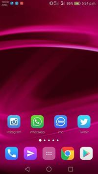 Pink Theme for iPhone 8 screenshot 4