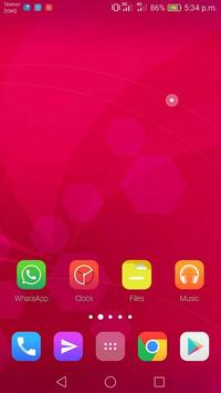 Pink Theme for iPhone 8 screenshot 5
