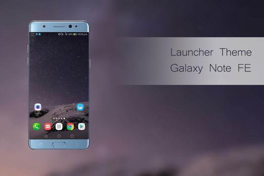 Theme for Galaxy Note Fan Edition poster