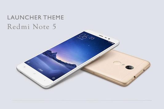Theme for Xiaomi Redmi Note 5 Wallpaper poster