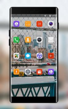 Theme for landscape city bridge wallpaper screenshot 1