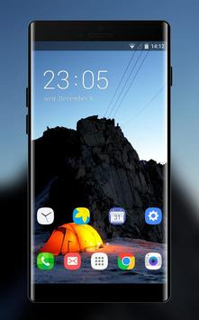 Theme for camping asus zenfone max poster