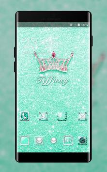 Luxury theme bling tiffany crystal wallpaper poster
